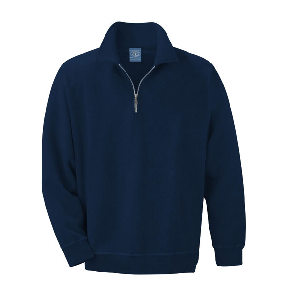Half Zip Sweatshirt | Blank Apparel by ZOME